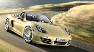 yellow porsche boxster possible new 211 ps porsche boxster leaked through dealer site