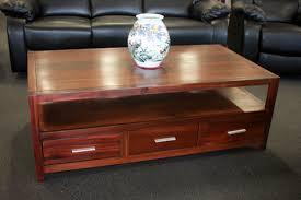 3 drawer end table jarrah albeny 3 drawer coffee table westland furniture jarrah