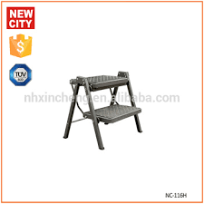 steel 2 step rolling kitchen folding stool ladder buy rolling