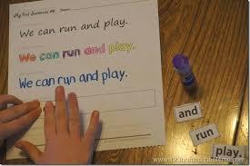 building sentences u2013 free printable using pre primer sight words