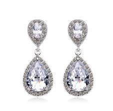 dangle earring ellangelcollection jewelry collection water drop diamond