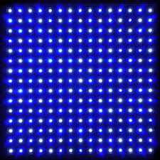 225 high power blue white led plant grow light panel