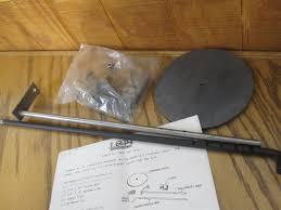 travis lopi wood stove rear damper assembly part 900103