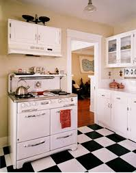 black and white kitchen floor ideas black and white kitchen floors vintage stoves stove and vintage