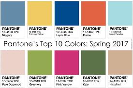 colors of spring 2017 spring 2017 pantone rellenita a la moda