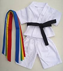 clothes for build a karate teddy clothes fit 14 18