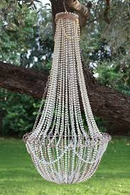 Wire Chandelier Diy Best 25 Diy Chandelier Ideas On Pinterest Garden Lighting