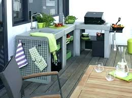meuble cuisine d été meuble cuisine exterieur gallery of meuble cuisine exterieur