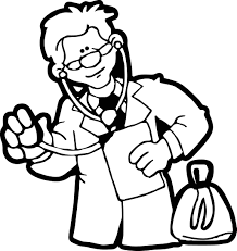 doctor coloring wecoloringpage