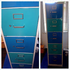 Teal File Cabinet How To Create A Dresser From A Recycled Filing Cabinet Snapguide