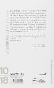 virginia woolf une chambre soi une chambre à soi virginia woolf 9782264033604 amazon com books