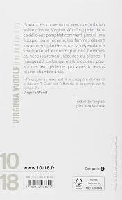 virginia woolf une chambre à soi une chambre à soi virginia woolf 9782264033604 amazon com books