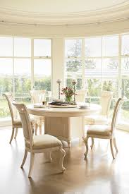 chateau 7 piece round dining suite by sorensen furniture harvey