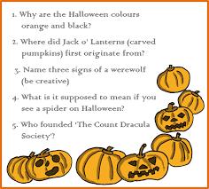 halloween trivia quiz printable u2013 festival collections