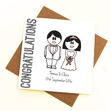 congratulations on wedding card congratulations wedding card by the abstract bee