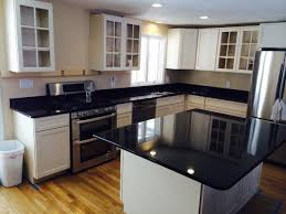 Kitchen With White Appliances by Granite Countertops Colors With White Cabinets Perfect Home Design