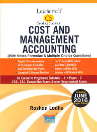 lawpoint cs executive cost and management accounting mcq by