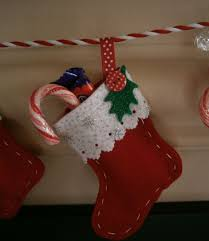 Christmas Decoration In Home Handmade Felt Stocking Bunting Christmas Decoration In Home