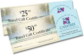 travel gift certificates gift certificates printing template nyc rebeccaprinting