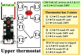 geyser thermostat connection electric water heater diagram single