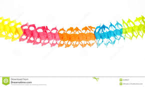colorful garland stock image image of yellow 6239827