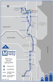 pentagon map route metroway
