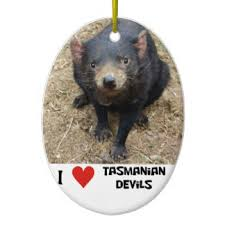 tasmanian ornaments keepsake ornaments zazzle