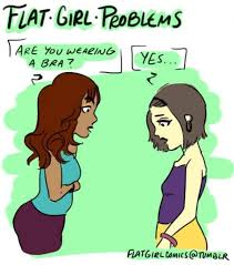 flat girl problems only flat girls know all too well