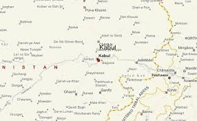 kabul map kabul location guide