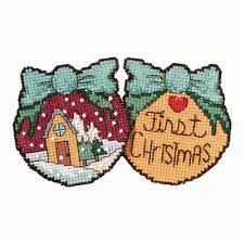 christmas ornaments cross stitch kit mill hill 2017 sticks st181716