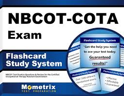 nbcot cota exam flashcard study system nbcot test practice