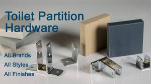 Solid Plastic Toilet Partitions Inexpensive Hardware Replacement Toilet Partition Hardware Youtube