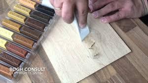 Floor Fill Laminate Repair Wood Repair With Soft Wax Youtube