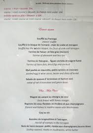cuisine philippe menu january 2015 picture of la cuisine de philippe