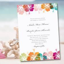 hawaiian themed wedding invitations printable wedding invitation template hibiscus tropical