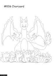pokemon charizard anime coloring printable kids