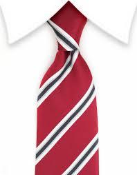 Red White Black Flag Dark Red White Silver U0026 Black Striped Tie U2013 Gentlemanjoe
