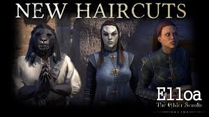 eso new haircuts discovered in thieves guild youtube