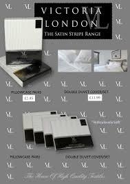 beautiful satin stripe duvet covers and pillowcases elsatex