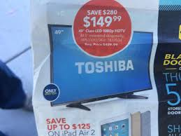 shoppers c out at san francisco best buy for 149 television