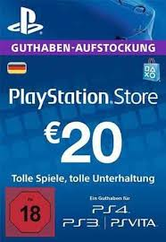 psn gift card buy playstation network 20 eur card only for de store playstation