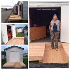 How To Build A Wooden Shed Ramp by Best 25 Ramp For Shed Ideas On Pinterest Bicycle Storage Bike