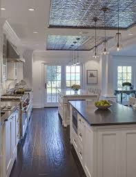 Ceiling Tile Painting Ideas by Best 20 Tin Ceiling Kitchen Ideas On Pinterest Tin Ceilings