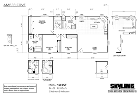 Skyline Manufactured Homes Floor Plans Amber Cove K605ct By Skyline Homes