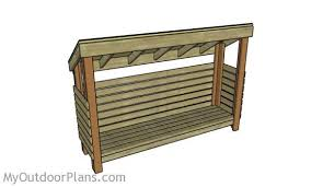 Free Firewood Storage Shed Plans by Garden Shed Designs Myoutdoorplans Free Woodworking Plans And