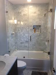 small bathroom ideas with tub and shower wainscoting closet
