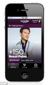 iPhone and iPad app Viggle rewards couch potatoes with Burger King     Daily Mail
