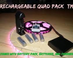 Led Strip Lights Battery Powered Battery Powered 5050 Rgb Led Strip Light Kit 44 Key Remote