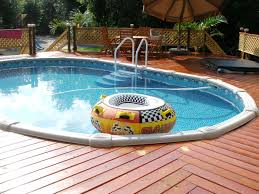 Pool Ideas For Small Backyards by Narrow Pool With Tub Firepit Great For Small Spaces Narrow