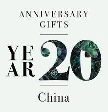 20th anniversary gifts our guide to 20th anniversary gifts three cheers for china the goods